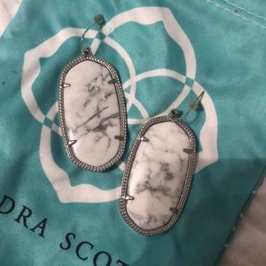 Kendra Scott marble Danielle earrings